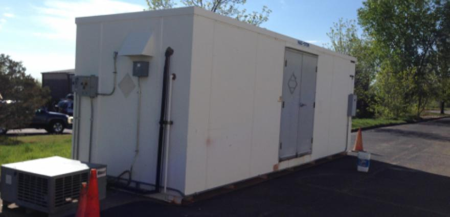 2-Hour Bi-Directional Fire-Rated Hazardous Material Storage Buildin