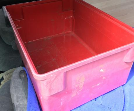 MFG Tray, totes, bins, containers, nesting, fiberglass