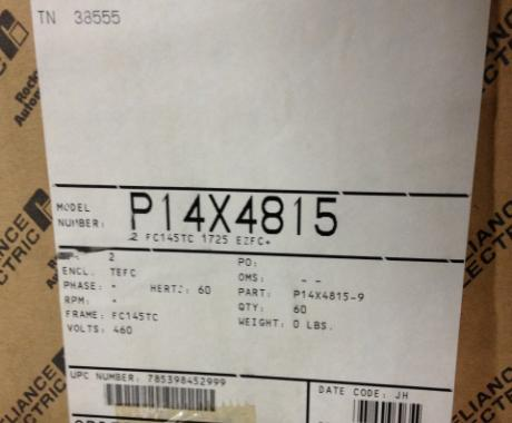 Rockwell Automation P14X4815 WASHDOWN MOTOR New