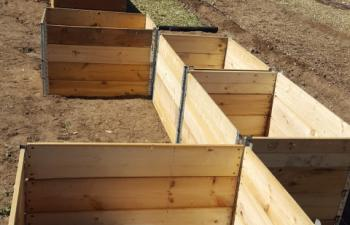 Community Garden, Grow a row, Greeley Colorado