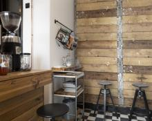 Use as a rustic paneling