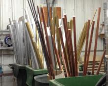 Aluminum, Brass & Copper Stock Tubing & Solid Tubing/Rods, Surplus