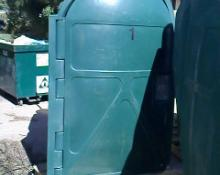 Bicycle, Bike Vertical Storage Box, Locker, Container, Green