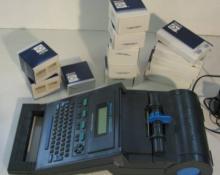 Brady LS2000 Label Printing System W/ Extra Lables & Ribbon