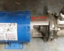 Burks Pump with Franklin Electric Motor