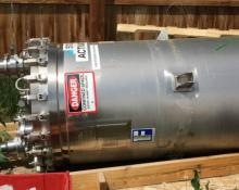 Feldmeier 200 gallon Sanitary SS Process Vessel #V-512 Dish Bottom