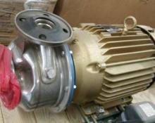 G&L Goulds Pump SSH w/ Baldor Super E Motor
