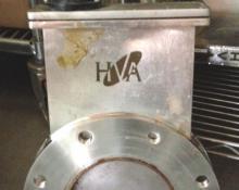 "HVA 11210-0601 6"" ASA Vacuum Gate Valve, Used"