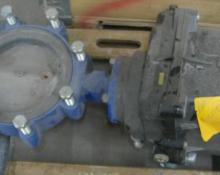 Actuator Pump/Butterfly valve
