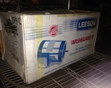 Leeson Electric Wash Down Motor Stainless Steel CZ6T17VC12B Cat. 114437.0