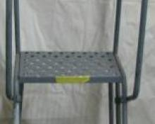 Louisville Rolling Step Ladder - 3 Steps