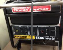 Master 6500 Generator w/Honda GX390 13.0