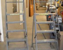 Steel Rolling Ladder, TRI-ARC