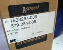 "NEW AAF Astrocel 35.75"" x 23.75"" x 5.5"" Type T-M Ducted Module Filter TMZU-63"