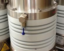 Pfeiffer TMH-200 MP Turbo-Drag High Vacuum Pump Rebuilt, 180 l/s pumping, Used