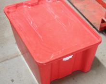 Plexton Tote, ESD, reinforced fiberglass container, Stack-n-nest