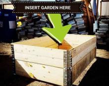 raised garden beds, raised beds, garden, tomatoes, Colorado gardening