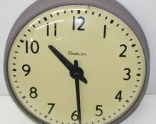 Beautiful Simplex Round Wired Wall Clock