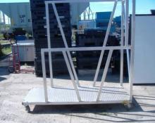 Sturdy Aluminum Utility Cart, Used