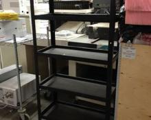 Sturdy Metal Shelving Unit, material handling
