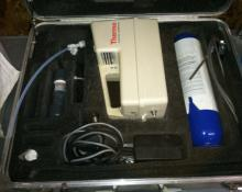 THERMO ELECTRON CORP OVM 580B PHOTOIONIZATION DETECTOR WITH CASE