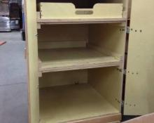 Very Cool, Heavy Duty, Well Built Plywood Storage Cabinet $175.00